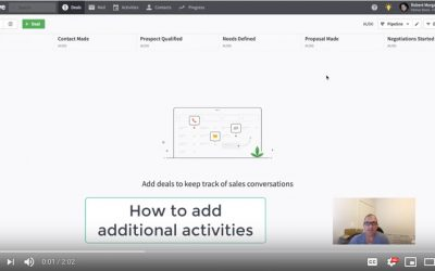 Pipedrive – Add Activities